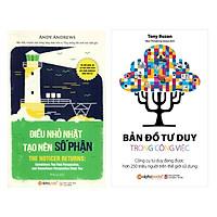 Combo Sách Tư Duy - Kỹ Năng Sống: Điều Nhỏ Nhặt Tạo Nên Số Phận + Bản Đồ Tư Duy Trong Công Việc
