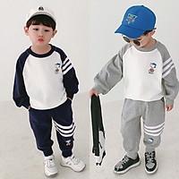 """Bộ quần áo thu đông """"SNOOPY"""" 7-17kg cho bé trai từ (1-5 tuổi). Năng động, phong cách. Vải dầy dặn, ấm áp."""