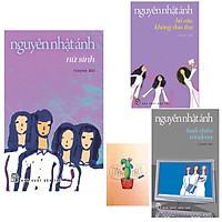 Combo Nguyễn Nhật Ánh: Nữ Sinh- Bồ Câu Không Đưa Thư và Buổi Chiều Windows ( Tặng kèm Sổ Tay Xương Rồng)