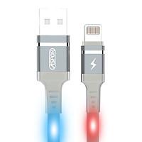 Cáp sạc USB-Lightning 2.4A dành cho iphone,ipads đèn LED chớp theo âm thanh A182 - Hàng chính hãng