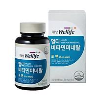 Thực phẩm bảo vệ sức khỏe MUTI VITAMIN MINERAL FOR MAN  Vitamin dành cho nam