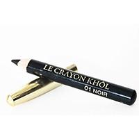 Chì kẻ mắt Lancome Le Crayon Khol màu 01 Noir - Size mini tách set