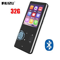 RUIZU D18 Portable 32GB MP3 Player Bluetooth-compatible 5.0 Video Player Lossless HiFi Sound Music Player 2.4-inch OLED Screen Built-in Speaker Support TF Card Walkman With Recording Calendar E-book