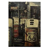 Tranh Retro Bestel De Route 66 (51.5 x 36cm)