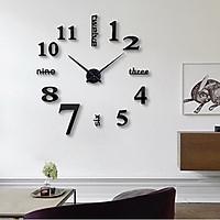 Đồng hồ dán tường phong cách châu âu