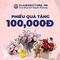 Toàn quốc [E-voucher] - Ưu đãi 100K Flowerstore giao ngay trong ngày