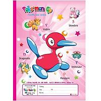 Lốc 10 vở Pokemon Go ( 48, 80 trang ) (Giao màu ngẫu nhiên)
