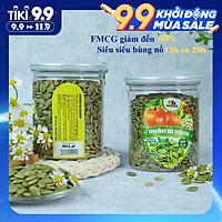 Nhân Hạt Bí Xanh Smile Nuts (265g - 500g) | Nhân bí xanh đã nướng nguyên vị, hàng nhập khẩu 100%