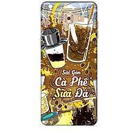 Ốp lưng dành cho điện thoại  SAMSUNG GALAXY C9 PRO Hình Sài Gòn Cafe Sữa Đá - Hàng chính hãng