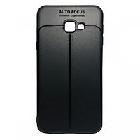 Ốp lưng giả da màu đen cho Samsung J7 Prime