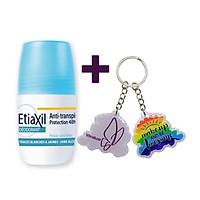 Lăn Khử Mùi Hằng Ngày Etiaxil Deodorant Anti-Transpirant 48h Roll-On Peaux Sensibles (50ml) + Tặng 1 Móc Khóa Nhựa 2 Mặt