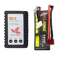 Combo Pin Lipo 11.1V 25C 3S và bộ sạc B3AC Build Power