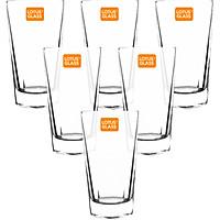 Bộ 6 Cốc Thủy Tinh Lotus Glass VTC 602 Trơn