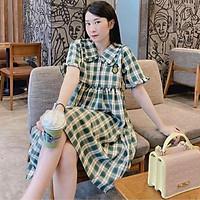Váy bầu đầm bầu cao cấp️chất lụa Hàn mát mềm mịnthiết kế sang chảnhmặc đi làm đi chơi đều đc