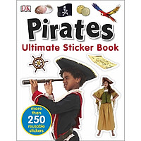 Ultimate Sticker Book Pirates