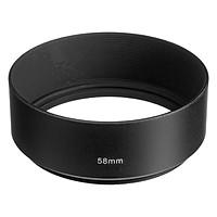 Lens Hood Kim Loại Size 58mm - Hàng Nhập Khẩu