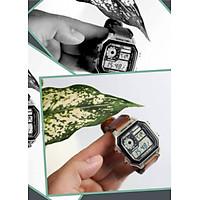 Dây đồng hồ RAM Classic Mahogany - Da bò thuộc bằng thảo mộc