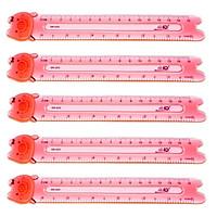 Bộ 5 Thước dẻo PVC Điểm 10 SR-025