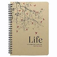 Sổ Lò Xo Life - Mẫu 2