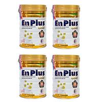 Bộ 4 Lon Sữa Bột Nutifood Enplus Gold - Dành cho người cao tuổi, người bệnh, người ăn uống kém (900g)
