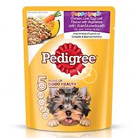 Thức Ăn Cho Chó Con Pedigree Vị Gà, Gan, Trứng Và Rau (80g)