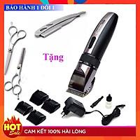 Tông đơ cắt tóc Hàn Quốc Codol 531 tặng kèm bộ kéo cắt tóc và dao cạo râu - Tăng đơ cắt tóc