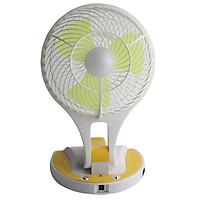 Quạt Tích Điện Kiêm Đèn Pin Mini Fan - Màu Ngẫu Nhiên