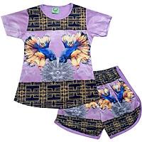 Set đồ bộ quần áo trẻ em in hình 3D Cá 7 màu siêu dễ thương - Độ tuổi 1 - 10 - AKN007