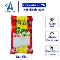 [Chỉ Giao HCM] Gạo ST25 - Thơm Thượng Hạng Cao Cấp, Gạo Đặc Sản Sóc Trăng