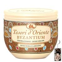 Sữa dưỡng thể Hy Lạp Cổ Đại Tesori d'Oriente Byzantium Shower Cream 300ml + Móc khóa