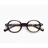 Gọng kính tròn cao cấp OSLO local brand DOKCRAZY mắt giả cận không độ thời trang nam nữ retro hot trend
