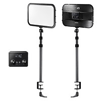 Godox ES45 E-sports LED Video Light Panel Max. 2500 Lumen 2800K-6500K Dimmable with C-Clamp Desk Mount Light Stand 2.4G