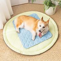 Xiaomi youpin băng giá mát mẻ vật nuôi mỏng tấm lót cho chó tấm đệm mùa hè vật nuôi băng đệm ngủ đệm cũi mèo giường đệm ngủ