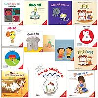 Combo ehon nhật bản dành cho trẻ từ 0 - 3 tuổi( Tặng kèm Sổ Tay Xương Rồng)