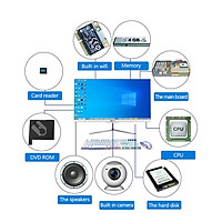 Bộ PC All In One MCC 4582P4 Home Office Computer CPU i5 4570/ Ram8G/ SSD240Gb/ DVDRW/ Camera/ Wifi/ IPS 24 inch[Chính hãng]