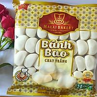 Bánh bao chay trắng Malai loại 40 cái/gói