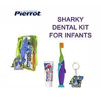 Bộ kit chăm sóc răng miệng trẻ em Cá mập Pierrot