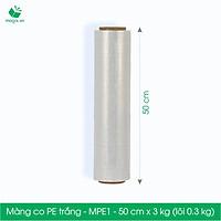 MPE1 - Khổ 50 cm - 3kg - Cuộn PE màng co