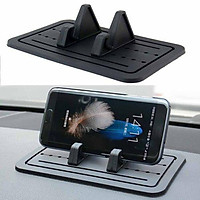 Silicone Pad Non-slip Dash Mat Car Mount Holder Cradle Dock for Phone Universal