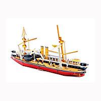 Mô hình giấy tàu thuyền