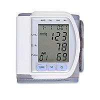 Máy đo huyết áp cổ tay theo dõi sức khỏe