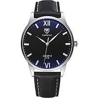 Đồng hồ nam Siêu Mỏng YAZOLE YE3318 Doanh Nhân 2020 Sang trọng Dây Da PU cao Cấp