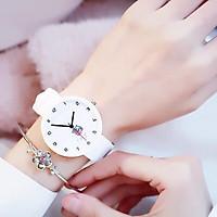 Đồng hồ nữ trái dâu Nhật Bản 4 màu thời trang