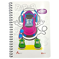 Sổ Lò Xo Notebook, Cool A4 (200 Trang) - 4145 - Mẫu 1