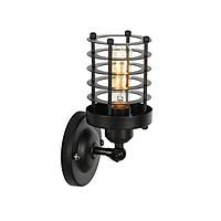 Đèn gắn tường trang trí kiểu công nghiệp lá sắt ống tròn VT10