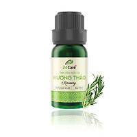 Tinh dầu Hương Thảo 24Care 10ML - Chiết xuất thiên nhiên, xông phòng, thanh lọc không khí, hương thơm thư giãn, giảm căng thẳng.