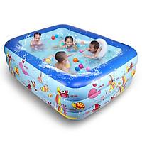 Bể Bơi Chữ Nhật 3 Tầng 180cmx130cmx60cm