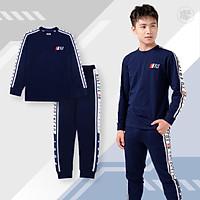 Quần áo nam BIGFOX - MISS MEOW tuổi teen, bộ đồ nam dài tay thu đông phong cách thể thao 41 - 55kg
