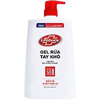Gel Rửa Tay Khô Sạch Siêu Nhanh Lifebuoy Bảo Vệ Vượt Trội 10 (1.1L)