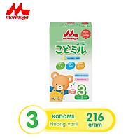 Sữa Morinaga số 3 Kodomil 216g cho bé từ 3 tuổi hương dâu, hương vani (Không tem đổi quà)